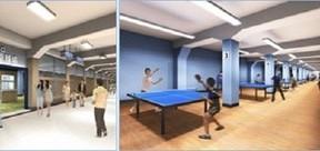 地下街「メトロこうべ」開業50周年を記念 卓球場をリニューアルオープン