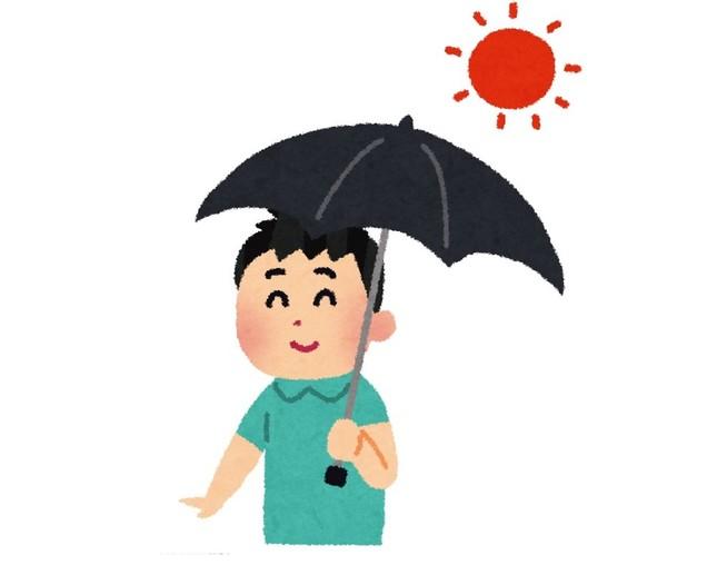日傘を使ってみたいか(男性限定アンケート)