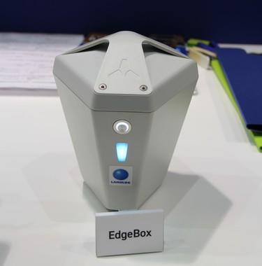 ドローンを飛ばす現場に設置する「EdgeBox(エッジボックス)」