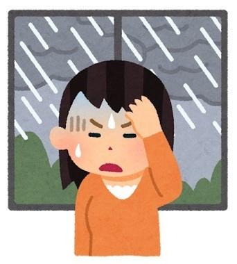 推定約1000万人が気象病
