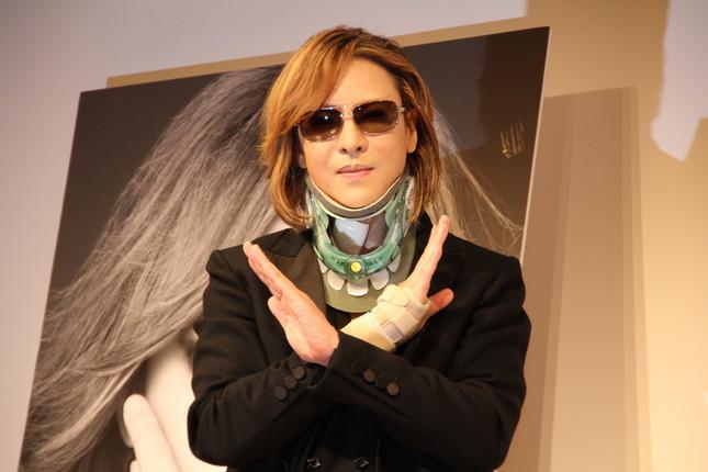 YOSHIKIさん(写真は2017年6月撮影)