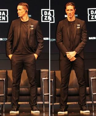 身長186センチのトーレス選手