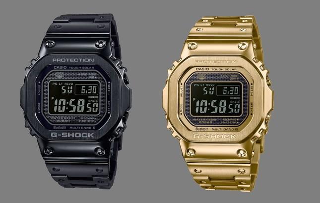 「G-SHOCK」から10月に発売する「GMW-B5000GD」(税別6万8000円)