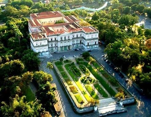 「ブラジル国立博物館」(同館公式ツイッターから)