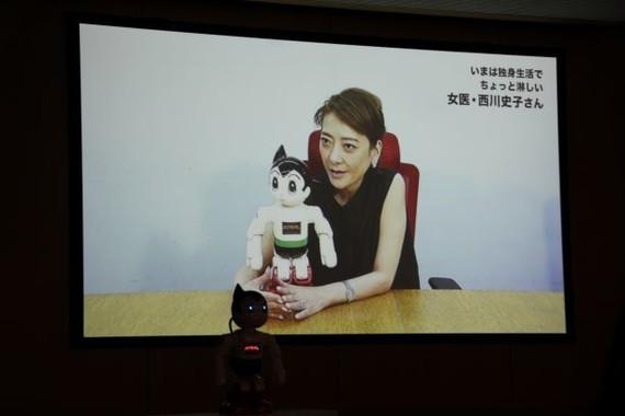 女医・西川史子さんからのビデオメッセージ(2018年9月撮影)
