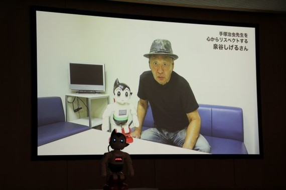 歌手で俳優の泉谷しげるさんからのビデオメッセージ(2018年9月撮影)
