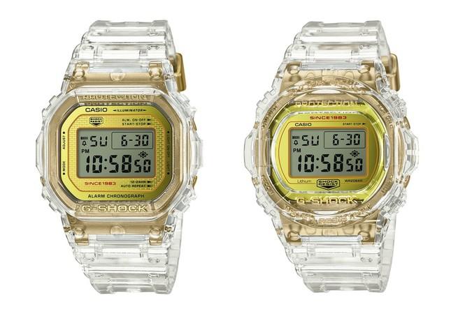 「DW-5035E」(左)と「DW-5735E」(右)