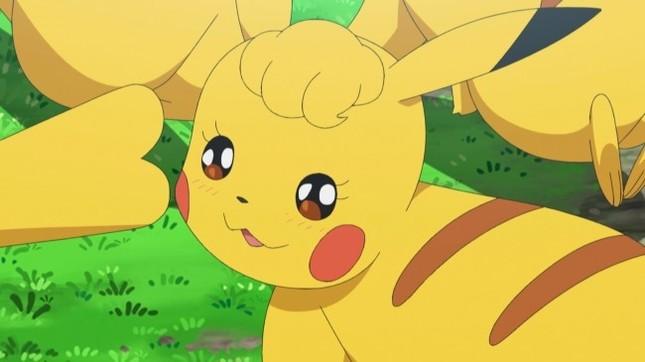 藤田さんが演じる「クリンちゃん」(c)Nintendo・Creatures・GAME FREAK・TV Tokyo・ShoPro・JR Kikaku(c)Pokémon