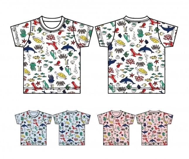 水族館の人気者をTシャツに!