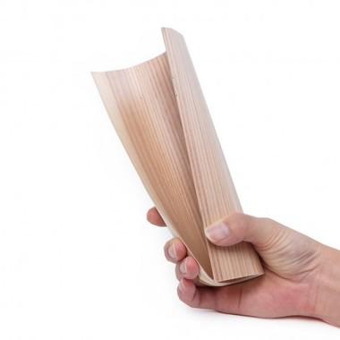 「木製中とじノート」