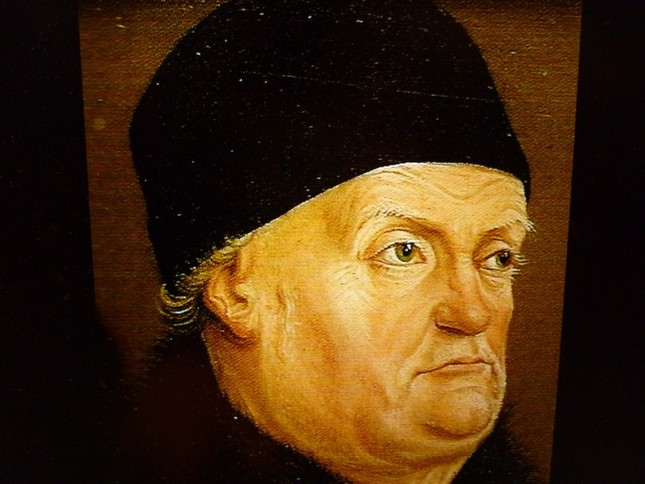エクス=アン・プロヴァンスにゆかりの深い作曲者ミヨーと『ルネ王』の肖像。似ているかもしれないが、それは気のせいである・・