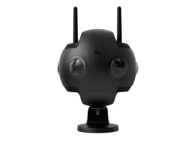 高画質な360度映像が撮影できるプロ向けモデル