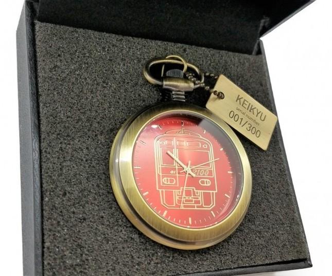 数量限定の懐中時計で「京急」120周年をお祝い