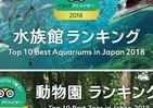 好きな動物園・水族館ランキング2018 来園者数に比例しない意外な結果に