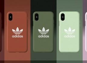 「アディダス」三つ葉ロゴや3本線をあしらったiPhoneケース