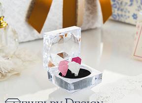 鮮やかなダイヤ型で気分が上がる 「ジュエリーデザインクリップ」