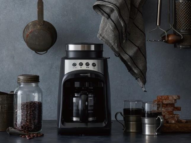 本格コーヒーを家庭で手軽に