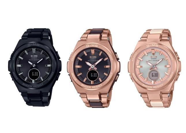 左から「MSG-W200CG-1AJF」、「MSG-W200CG-5AJF」、「MSG-W200CG-4AJF」(価格はいずれも税別3万6000円)