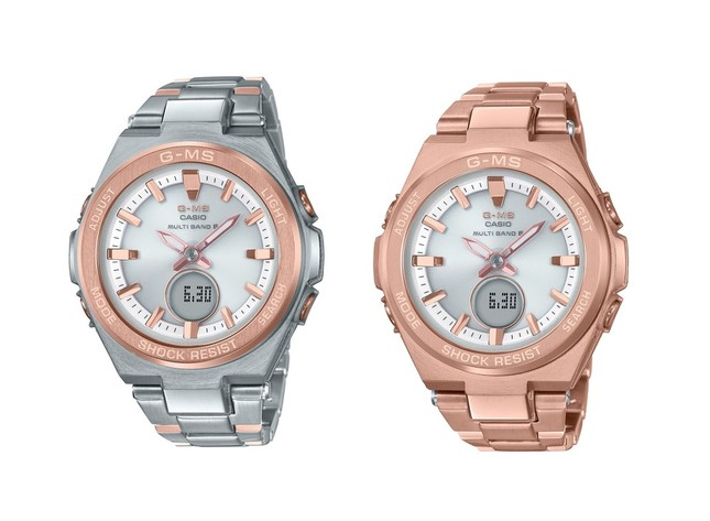 左から「MSG-W200SG-4AJF」(税別3万5000円)、「MSG-W200DG-4AJF」(税別3万8000円)
