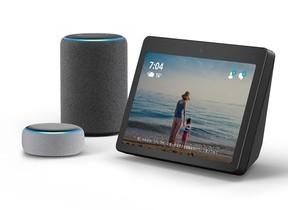 アマゾン「Echo Show」などスマートスピーカー3モデル