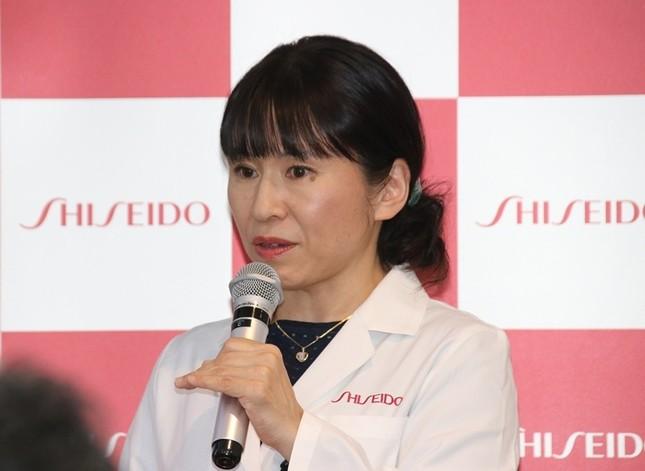 資生堂アドバンストリサーチセンター研究員の勝山雅子さん