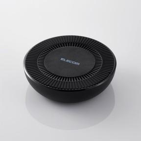 冷却ファン内蔵、スマホの温度上昇抑えて高速充電 ワイヤレス充電器