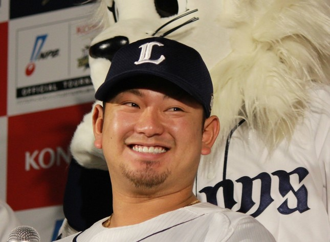 「侍ジャパン」に選出された森友哉捕手 (写真は2018年1月撮影)