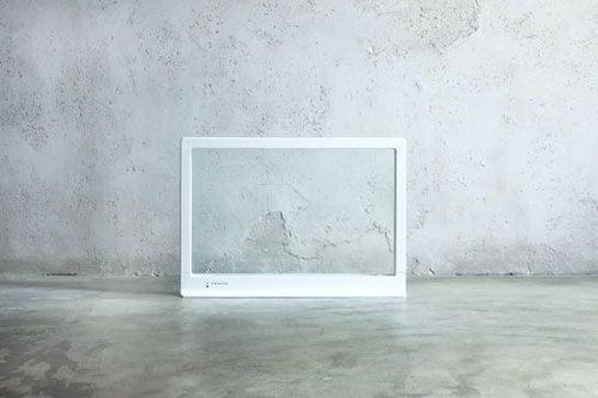 透明なガラスのパネルヒーター