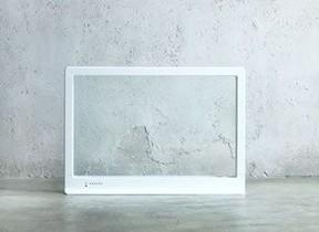 透明なガラスのパネルヒーター 部屋を暖めるのに最適な素材