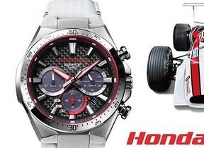 カシオ「EDIFICE」から「Honda Racing」コラボモデル