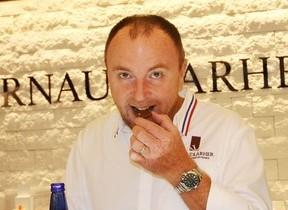スパークリング清酒「澪」に相性ピッタリのショコラ パリの人気パティシエが開発
