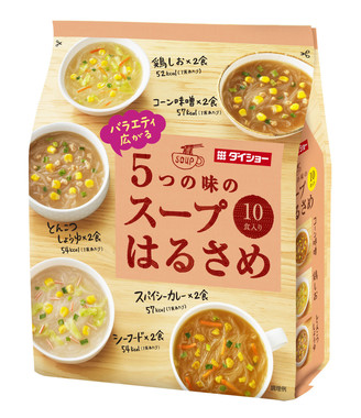 「バラエティ広がる 5つの味のスープはるさめ 164.8グラム」