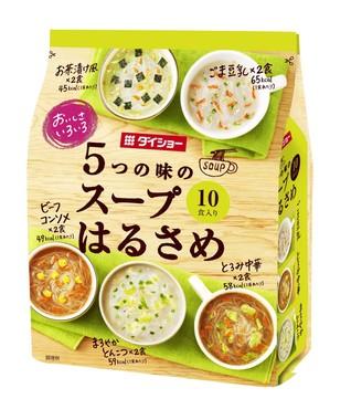 「おいしさいろいろ 5つの味のスープはるさめ 159.4グラム」