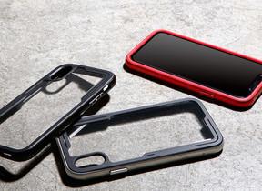 耐衝撃性と持ちやすさを両立 iPhoneバンパーケース