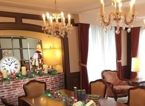 スイートルームをサンタハウス風に装飾 1日1室限定