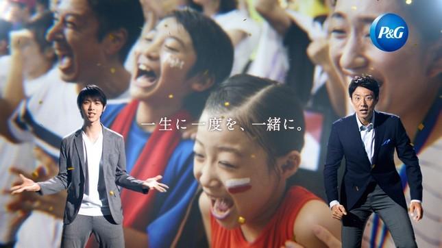 羽生結弦選手と松岡修造さんがCM初共演