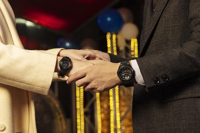 G-SHOCKと同様に、「強くて頑丈な」2人の絆を表現