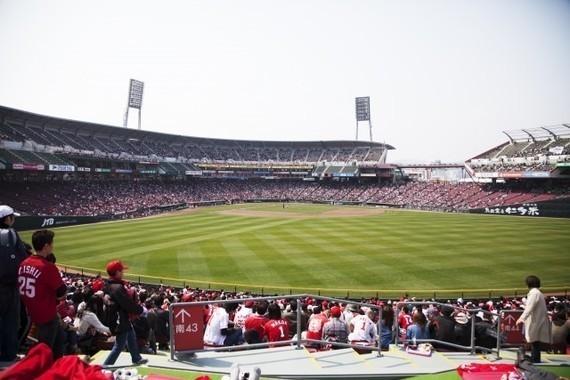 日米野球が「Mazda Zoom-Zoom スタジアム広島」で初開催