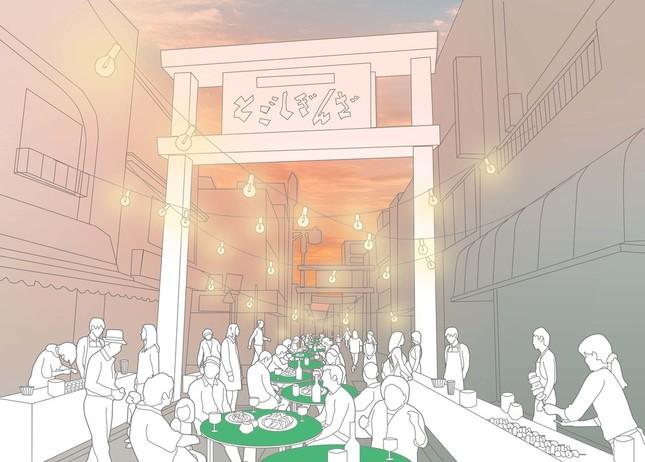 戸越銀座「ストリート・ビュッフェ」イメージ