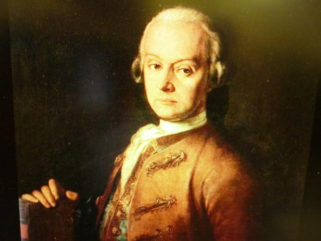 レオポルド・モーツァルトの肖像画