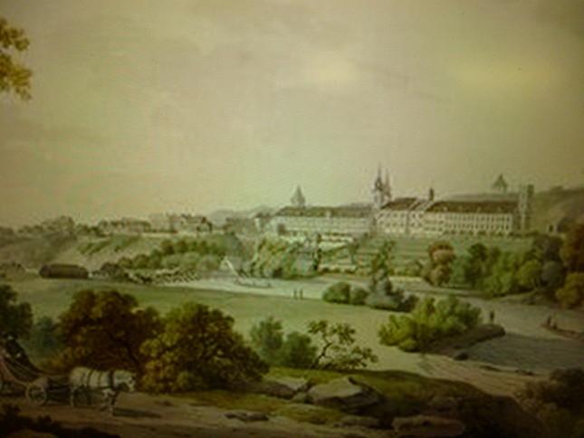 モーツァルト時代のランバッハの風景