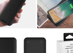 「Qi」ワイヤレス充電対応 容量1万mAhのモバイルバッテリー