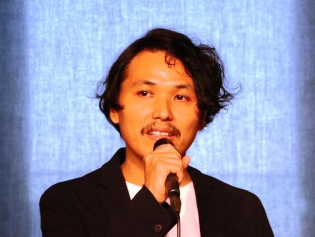 「Lyric Speaker Canvas」を製造・販売するCOTODAMA社代表取締役社長・斉藤迅氏