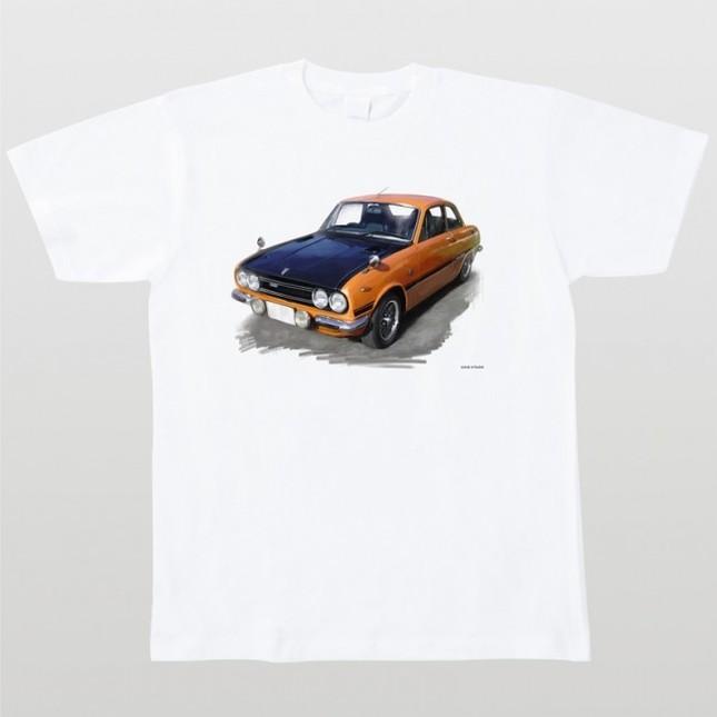 車イラスト全71種をTシャツに!