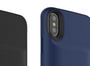 容量1720mAhリチウムバッテリー内蔵 iPhone X向けケース
