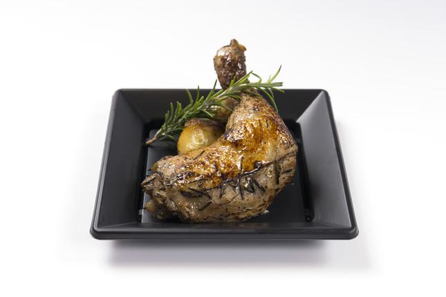 「鶏肉のコンフィ」