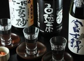 選りすぐりの地酒3種を鰤しゃぶとともに 「3蔵飲み比べプラン」 静岡