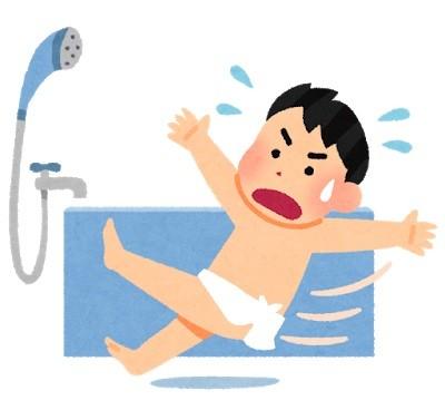 入浴中の事故に注意