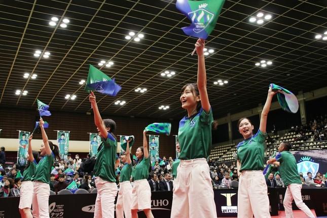 木下マイスター東京の公式サポーター「カレッジ・コスモス」による応援レクチャー