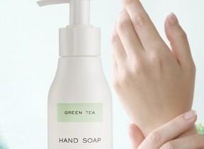爽やかなグリーンティーの香り 「コトシナ」からハンドソープ